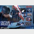 Captain America - Civil War HOT TOYS - MMS350 - 1/6th Scale Collectible Figure