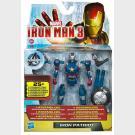 Iron Patriot - Iron Man 3 - Avengers Initiative - Interchangeable Armour Systeme Action Figure