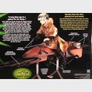 Speeder Bike with Luke Skywalker - Star Wars Power of The Jedi - Hasbro Action Collection