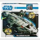 Star Wars The Legacy Collection - Millennium Falcon - Over 2 1/2 Feet Long 75cm + Training On The Falcon Battle Pack (set 4 personaggi)