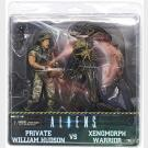 Private William Hudson vs Xenomorph Warrior - Aliens