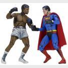Superman VS. Muhammmad Ali - Set di 2 Action Figure - NECA