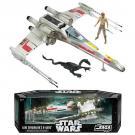 Luke Skywalker's X-Wing - With Dagobah Luke figure and Dragonshake! - Star Wars