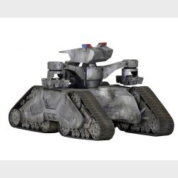 Hunter Killer Tank - Terminator 2 Judgment Day 3D - CineMachines n. 9
