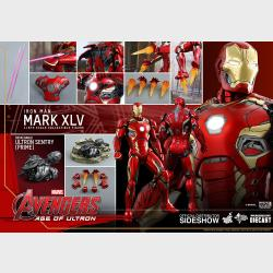 Iron Man Mark XLV - Avengers Age of Ultron - HOT TOYS - Diecast Movie Masterpiece Series - MMS300-D11