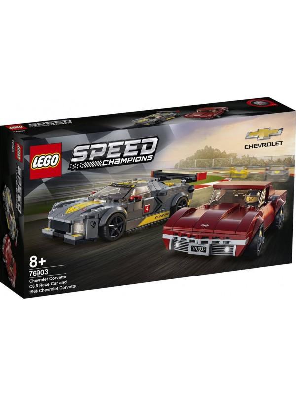 Lego 76903 - Chevrolet Corvette C8.R e 1968 Chevrolet Corvette - Speed Champions