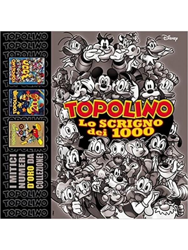 TOPOLINO LO SCRIGNO DEI 1000, 2000 E 3000 - Panini Comics