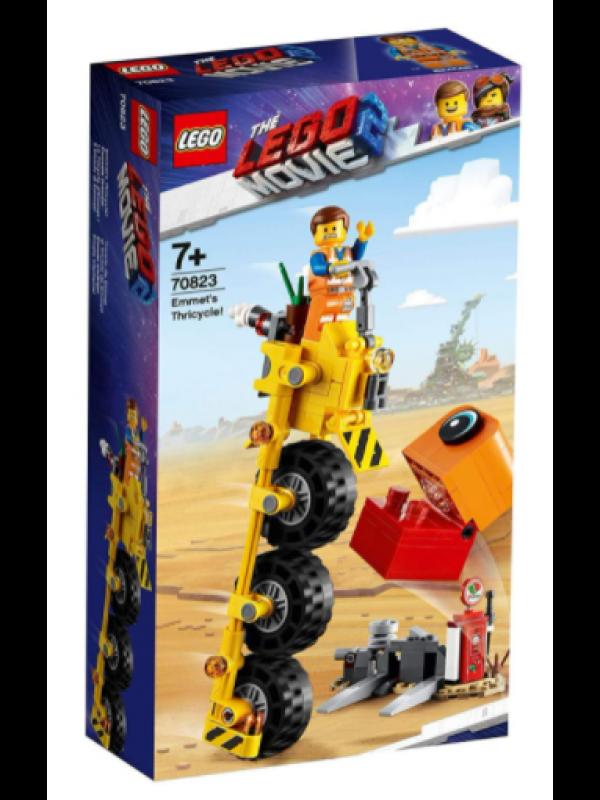 Lego 70823 - Il triciclo di Emmet - Lego Movie 2