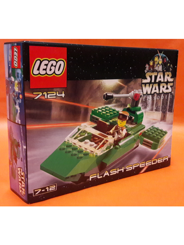 7124 - Flash Speeder - Lego - Star Wars