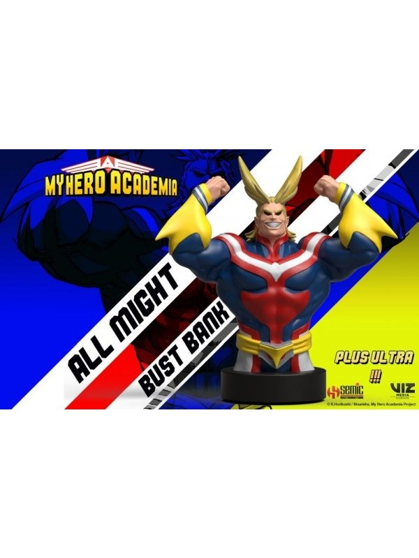All Might Bust Bank - My Hero Academia - Semic/Viz Media Europe