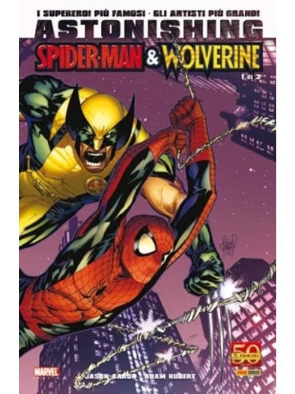Astonishing Spider-Man & Wolverine - Panini Comics - Serie Completa 1/3
