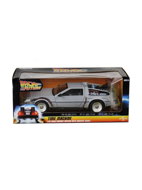 Delorean - Back To The Future (Ritorno al Futuro) - NECA