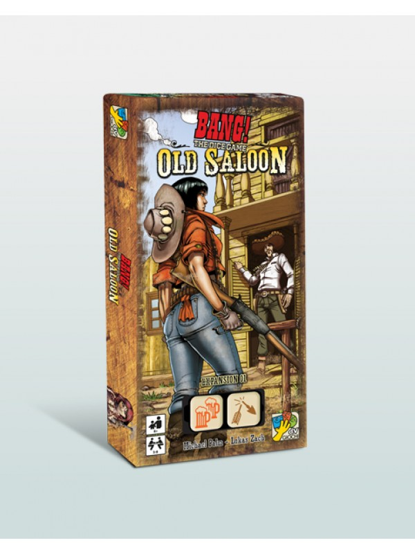 BANG! - THE DICE GAME - OLD SALOON - ESPANSIONE - DV Giochi