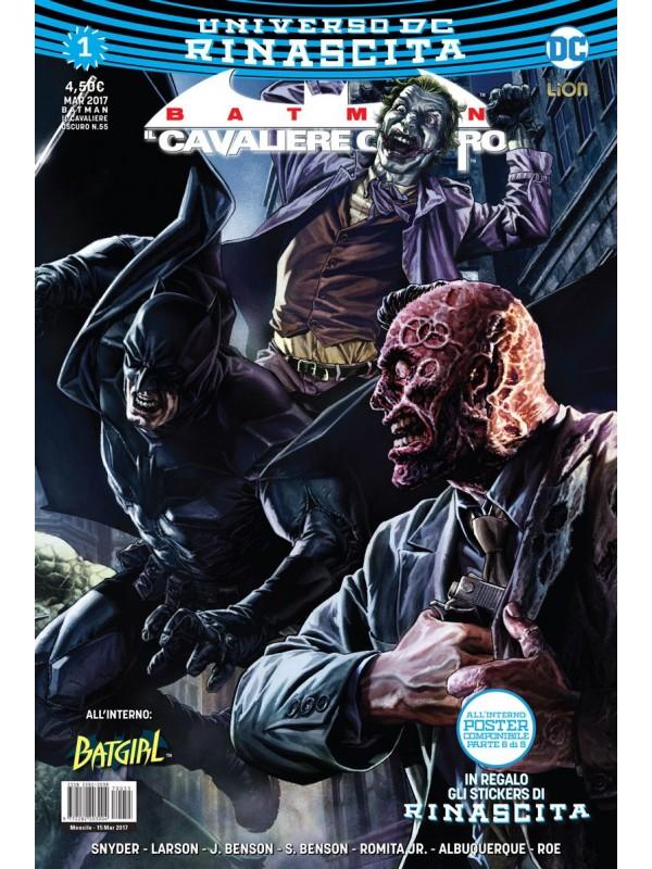 Batman - Il Cavaliere Oscuro - Universo DC Rinascita - Lion - Sequenza in blocco 1/5
