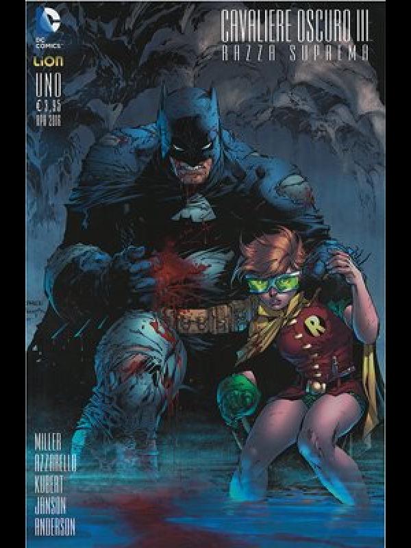 Batman Cavaliere Oscuro III Razza Suprema (Variant A) - Lion - Serie completa 1/9