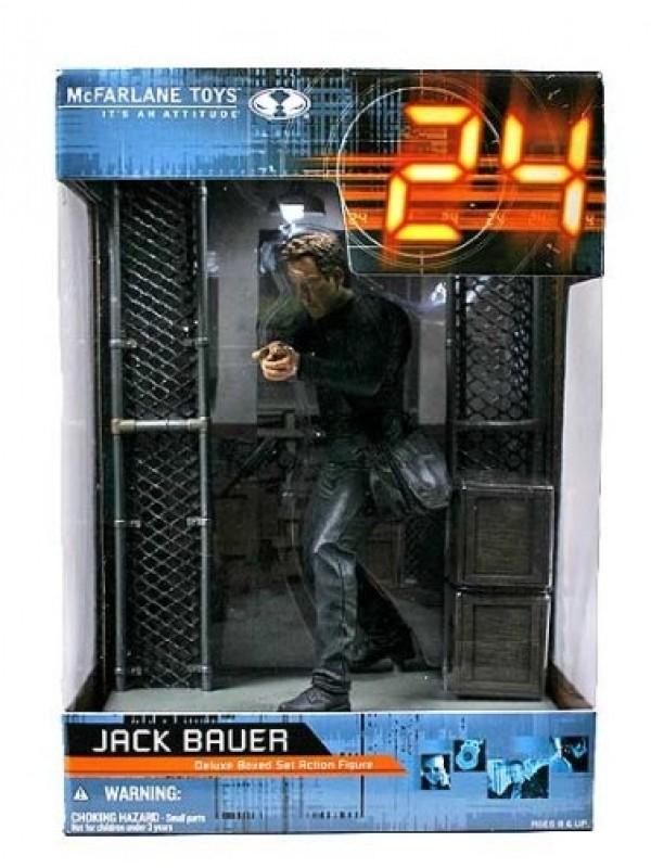 Jack Bauer - 24 - Deluxe Boxed Set Action Figure - McFarlane Toys