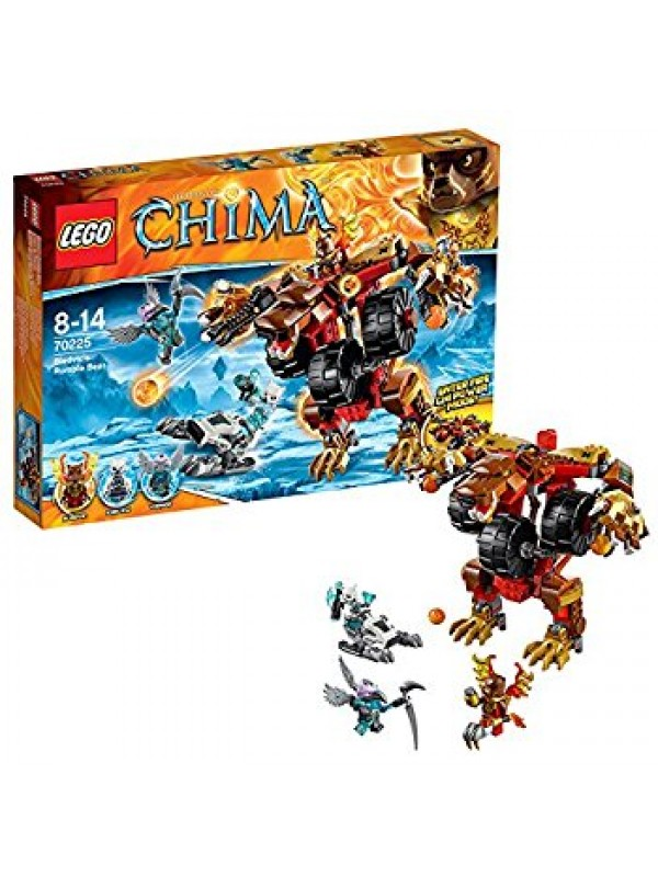 70225 - Bladvic's Rumble Bear - Lego Legends of Chima