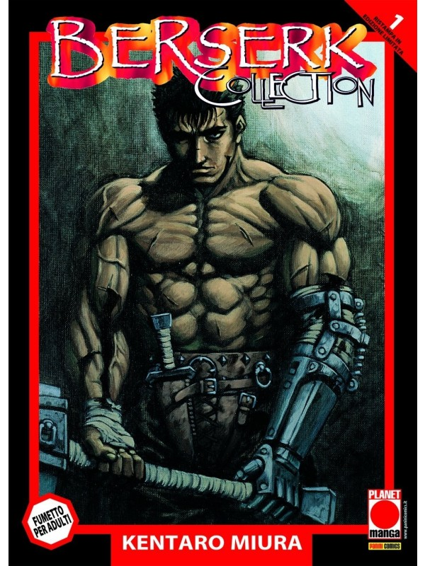 BERSERK COLLECTION Serie Nera - Planet Manga - Sequenza in blocco 1/36