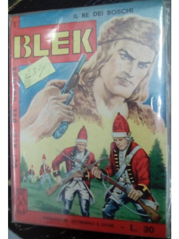 Gli Albi del Grande Blek - Il Re dei Boschi - Casa Editrice Dardo - Sequenza in blocco 1/14