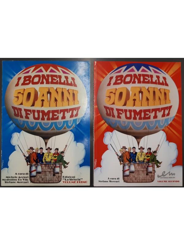 I Bonelli - 50 Anni di Fumetti - Editoriale Mercury - Serie completa 1/2