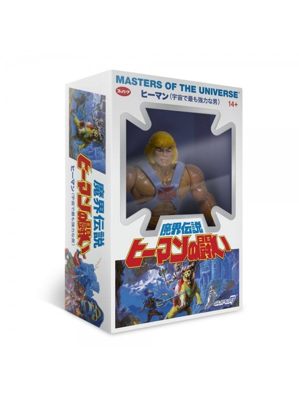 He-Man - Masters of The Universe (MOTU) - Super 7 (March2019) (BOX)