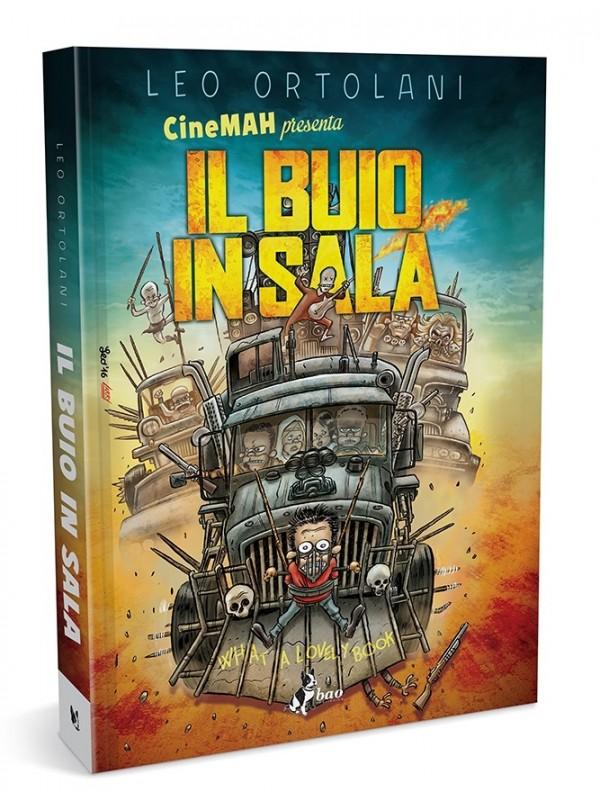 CineMAH presenta: Il Buio In Sala - Edizione Variant - Leo Ortolani - Bao