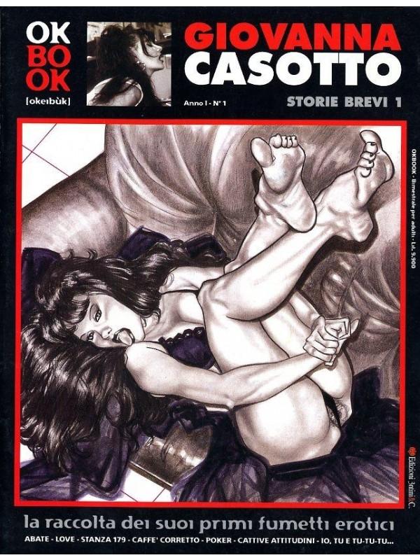 Giovanna Casotto - Storie Brevi 1/4 + Femmine (Fantasie di) - Edizioni 3ntini - Blocco 5 volumi brossurati