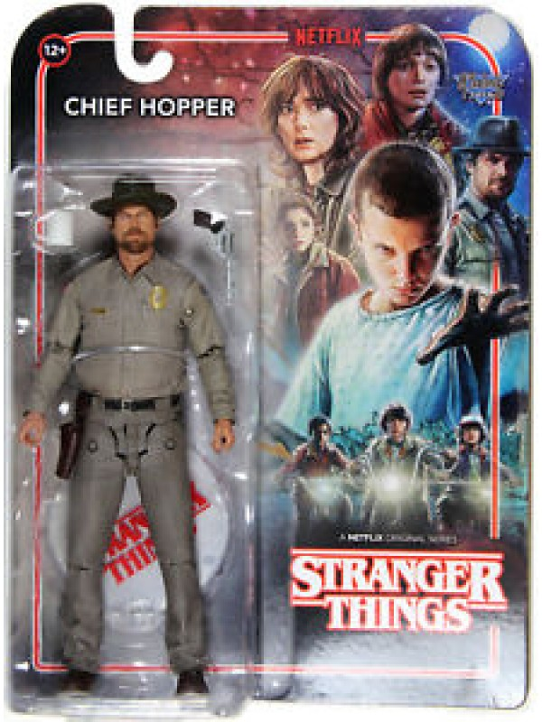 Chief Hopper - Stranger Things - Netflix - Action Figure