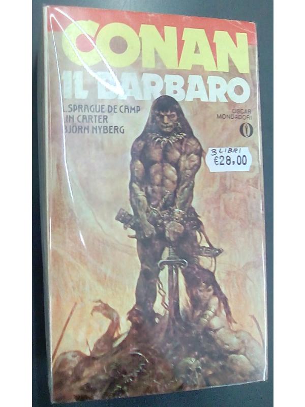 Conan Il Barbaro - Oscar Mondadori - Pack di 3 romanzi