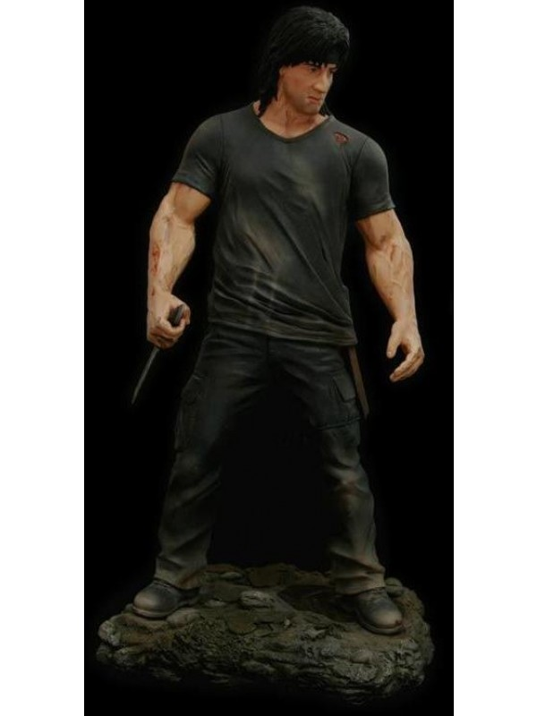 Rambo (Rambo IV) - Hollywood Collectibles Group - Statua (2007)