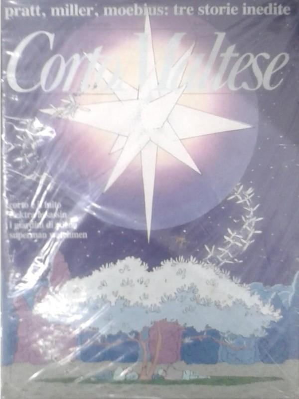CORTO MALTESE Rivista Rizzoli - Annata completa 1989 anno 7 - Numeri 1/12