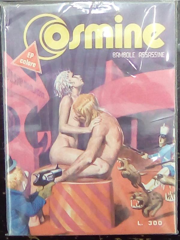 Cosmine n. 10 - Bambole Assassine - EP Colore - EP Comics - (Milo Manara)