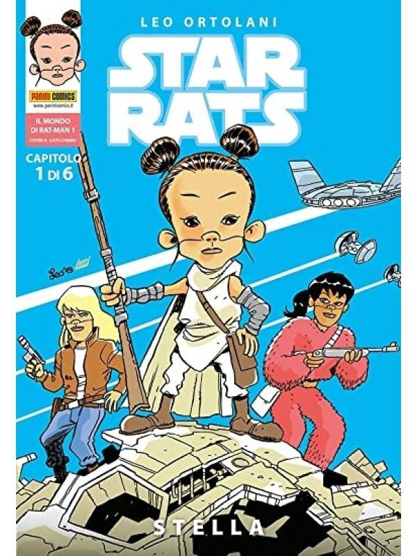 Star Rats - Il mondo di Rat-Man - Panini Comics - Serie completa 1 Cover A/6 + Numero 1 Cover B
