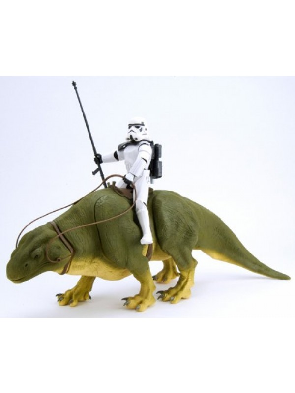 Dewback & Sandtrooper - Star Wars The Power of The Force - Hasbro Action Collection