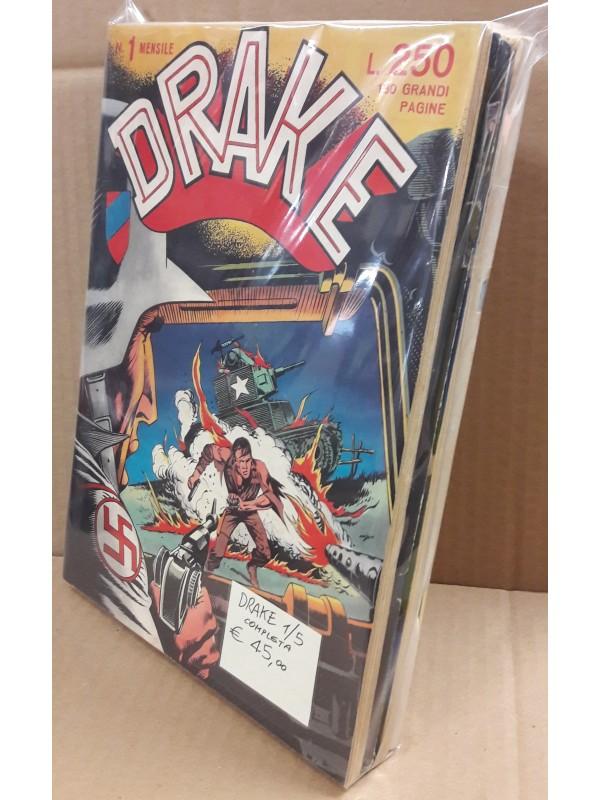 Drake - SAES Editore - 1969 - Serie completa 1/5