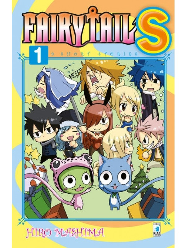 Fairy Tail S - 9 Short Stories - Star Comics - Miniserie completa 1/2