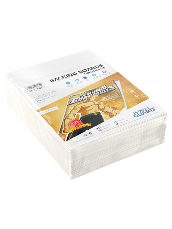Backing Boards - Golden Size - Cartoncini rigidi per fumetti (formato 193x266 mm) - Ultimate Guard