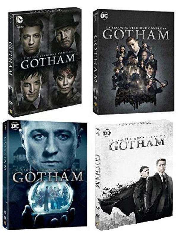 Gotham - Warner Bros. - Sequenza in blocco DVD Stagioni 1/4