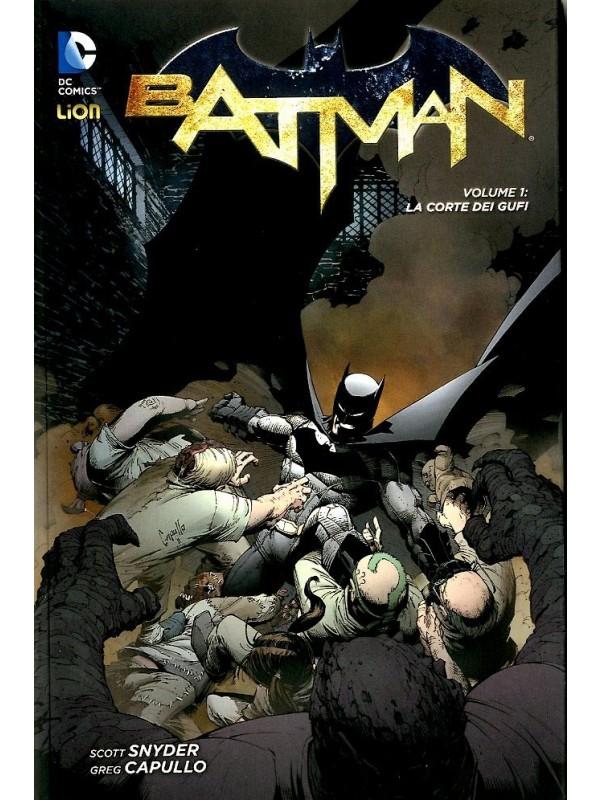 Batman di Snyder e Capullo - RW Lion - Sequenza in blocco 1/3 (un volume brossurato e due cartonati)