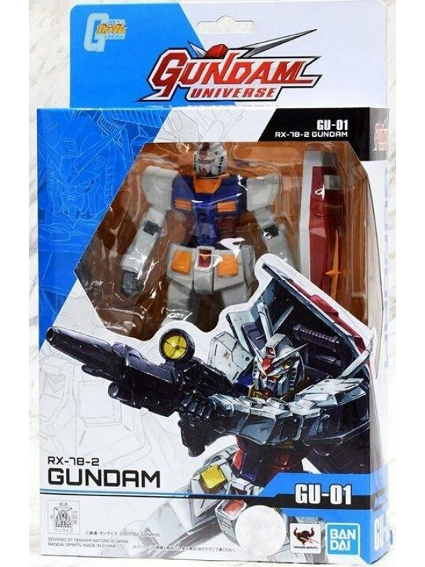 RX-78-2 Gundam GU-01 - Gundam Universe - Bandai