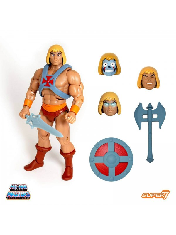 Ultimate He-Man - Most powerful man in the Universe! - The Masters of the Universe (He-Man) - MOTU - Super 7 - Action Figure