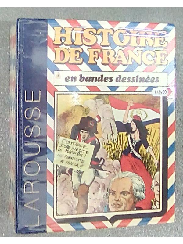 Historie De France en bandes dessinées - Larousse - Sequenza in blocco 1/5