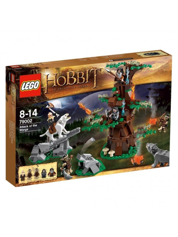 Lego The Hobbit An Unexpected Journey - 79002 - Attack of The Wargs