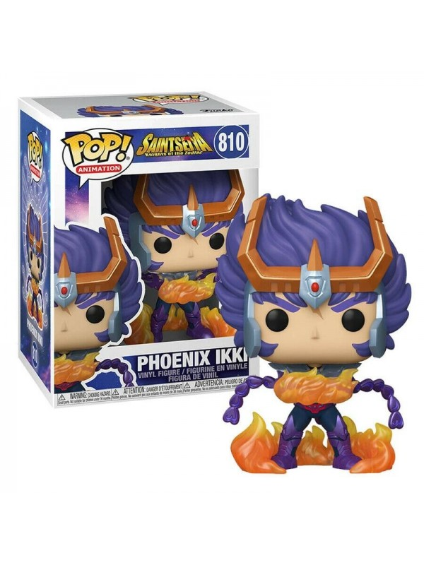 Phoenix Ikki - Saint Seiya - Knights of The Zodiac - Vinyl Figure - Pop! Animation 810