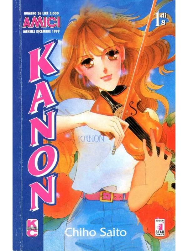 Kanon - Amici - Star Comics - Serie completa 1/6
