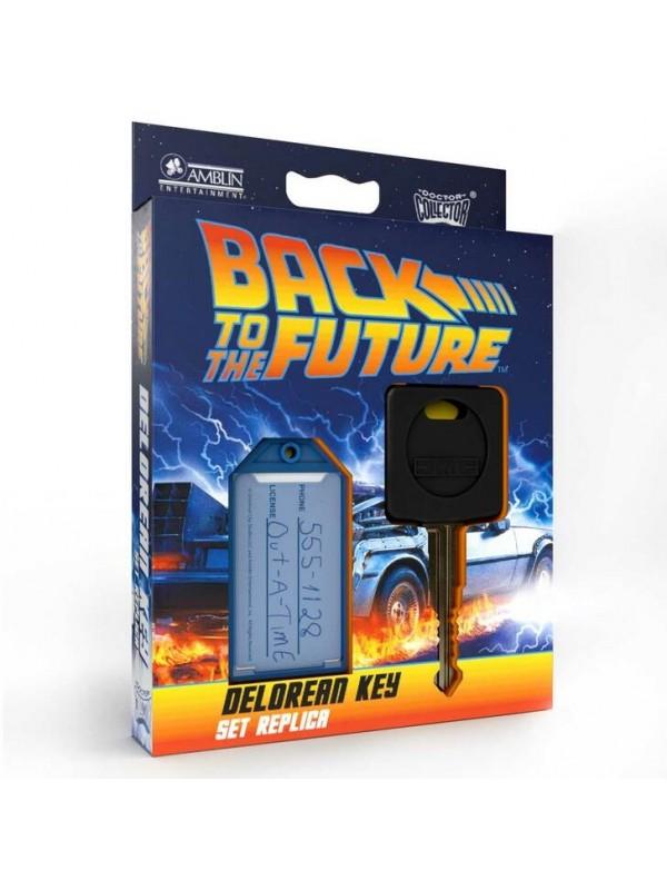 Doctor Collector Presents: Delorean Key - Set Replica - Back to the Future - Amblin Entertainment