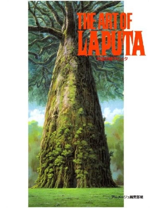 The Art of Laputa- Art Book Originale Giapponese