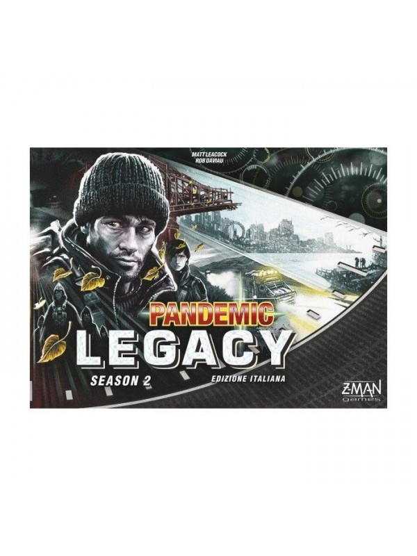 PANDEMIC LEGACY SEASON 2 - SCATOLA NERA - Z-Man Games - Asmodee