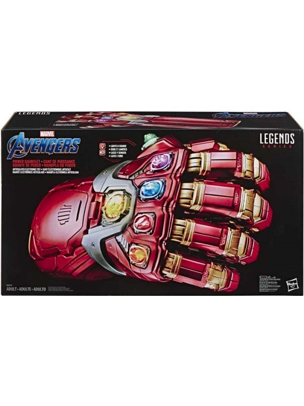 Avengers Power Gauntlet - Articulated Electronic Fist - Legends Series - Hasbro
