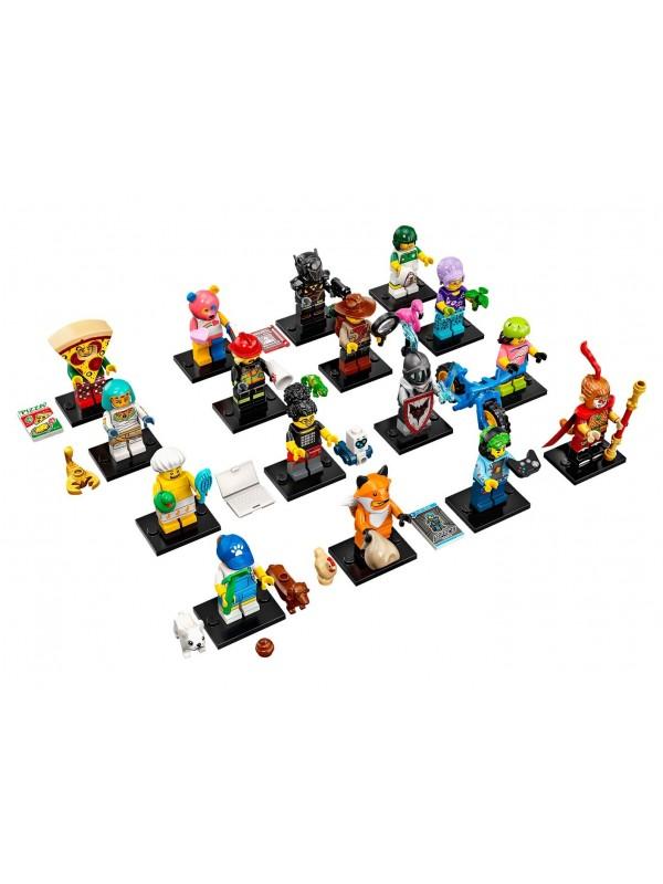 Lego 71025 Collezione Minifigures Serie 19 - Serie completa di 16 personaggi